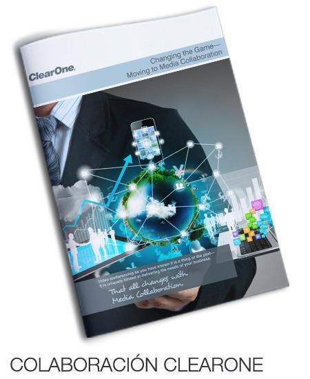 Catálogo solución colaborativa CLEARONE