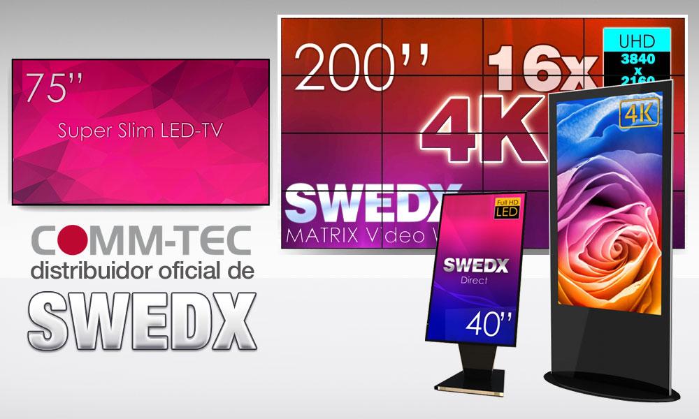 COMM-TEC distribuye SWEDX