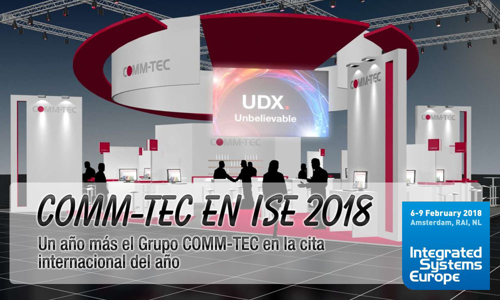 COMM-TEC en ISE 2018