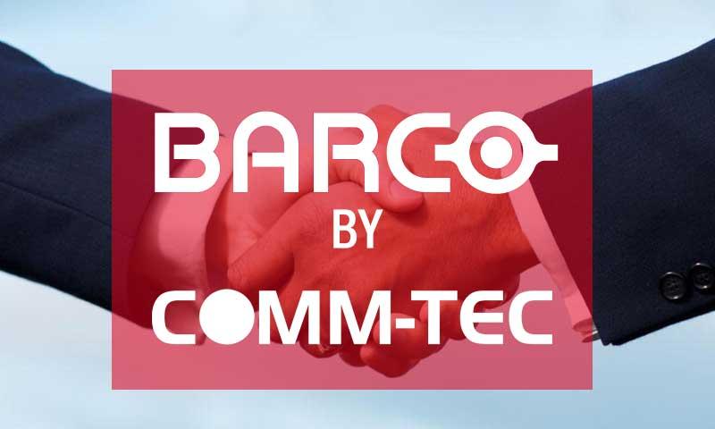 Nuevo acuerdo de comercialización BARCO