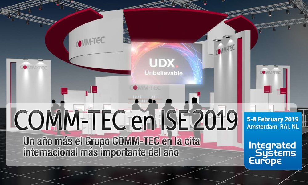 COMM-TEC en ISE 2019