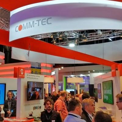 Novedades COMM-TEC en ISE 2019