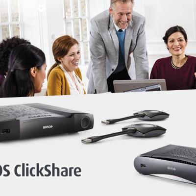 Nuevos modelos ClickShare